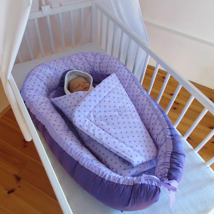 Hnízdečko pro miminko , hvězdička fialová