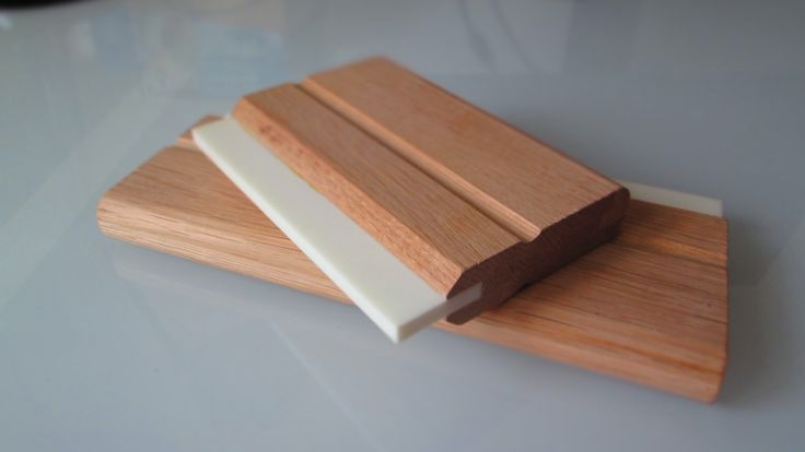 hand made wooden #squeegees