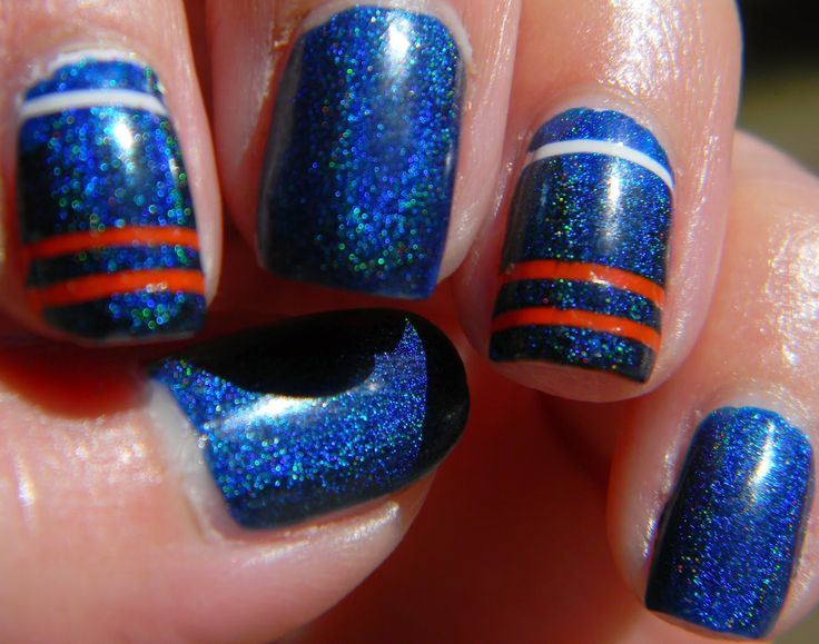 25 unique denver broncos nails ideas on pinterest broncos nails denver broncos nails manicure nailart prinsesfo Gallery