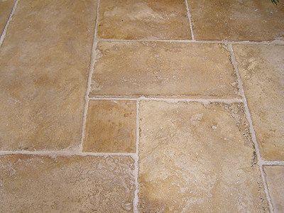 Bourgondische dallen kalksteen Romaans verband