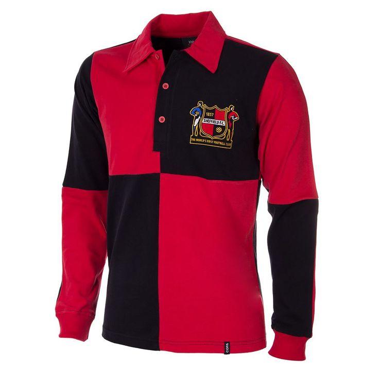 Sheffield FC 1950's Long Sleeve Retro Football Shirt COPA | COPA
