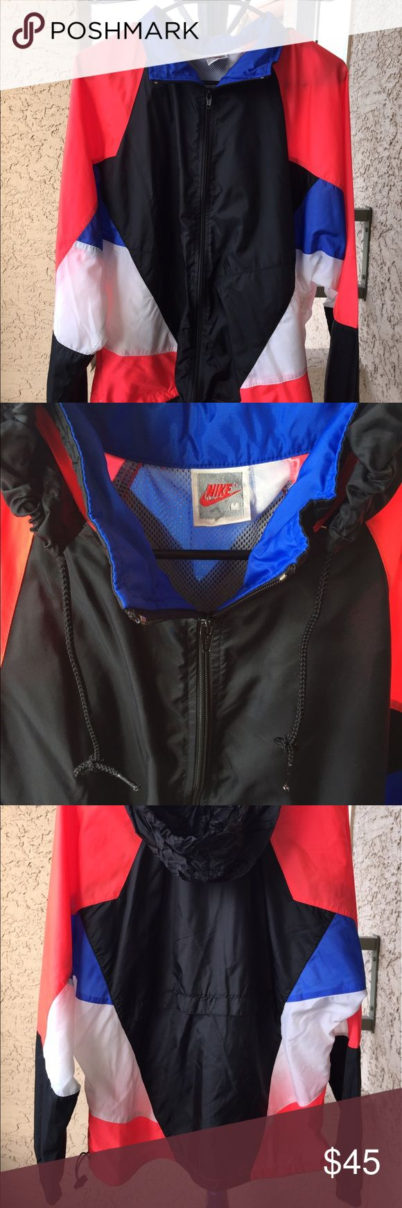 Vintage Nike Windbreaker Medium 90s 80s? Amazing Vintage Nike Windbreaker Jacket. Size Medium. Guaranteed to break Necks Nike Jackets & Coats Windbreakers