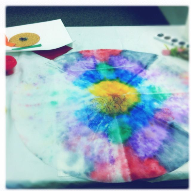 Water color Mandala art therapy for kids. ...BTW,Please Check this out: http://artcaffeine.imobileappsys.com