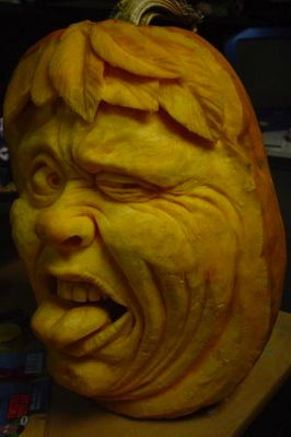 Best Pumpkin Carvings Images On Pinterest Sky Carnivorous - Mind blowing pumpkin carvings by ray villafane 2