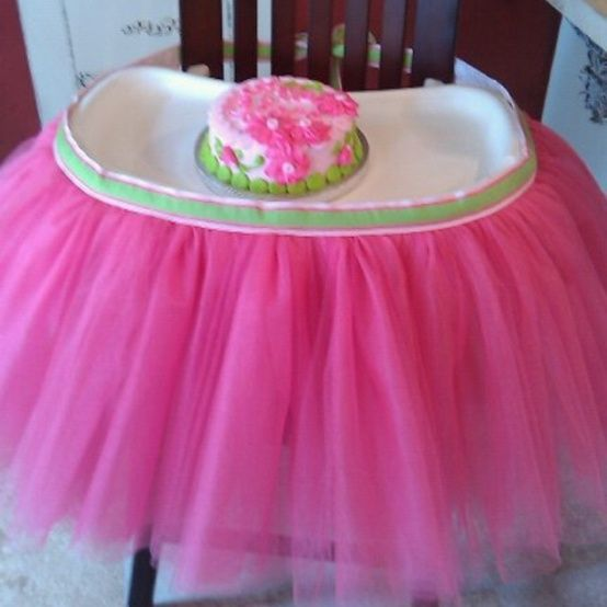 """This is """"tutu"""" cute!! My friend is a genius!! {it's never too early to start planning baby girl's bday party!!} by TheRiversEdge"""