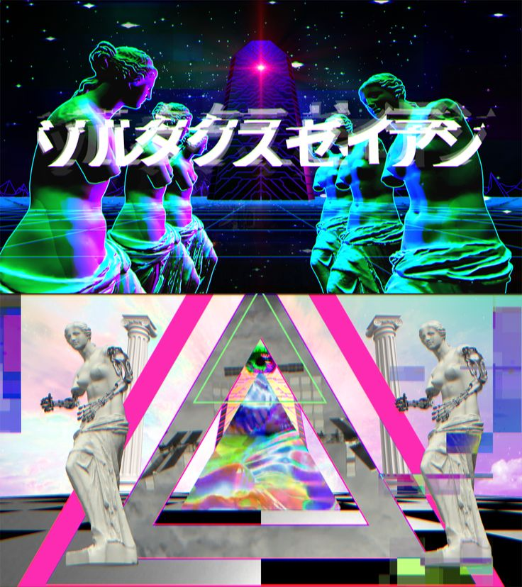 "Mr.都市伝説関暁夫の都市伝説6 ARムービー  ""Zoltaxian"" Music video, Glitch Animation by…"