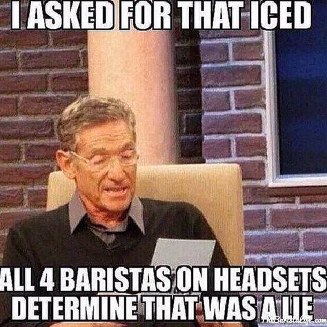 #BaristaLife #BaristaProblems #ToBeAPartner http://thebaristalife.com/ hahahaha...so funny and true!