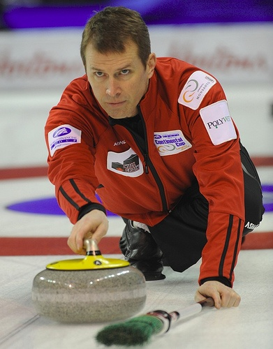 Jeff Stoughton & the tuck, a great part of the sport of curling.. curling is on the list.. lol  but Jeff Stoughton.....hmmmmmmlol
