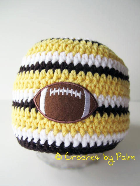239 Best Crochet Sports Fans Images By Linda Huff On Pinterest