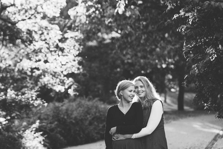 Fall same sex engagement Julia Lillqvist | Ida and Madeleine | http://julialillqvist.com