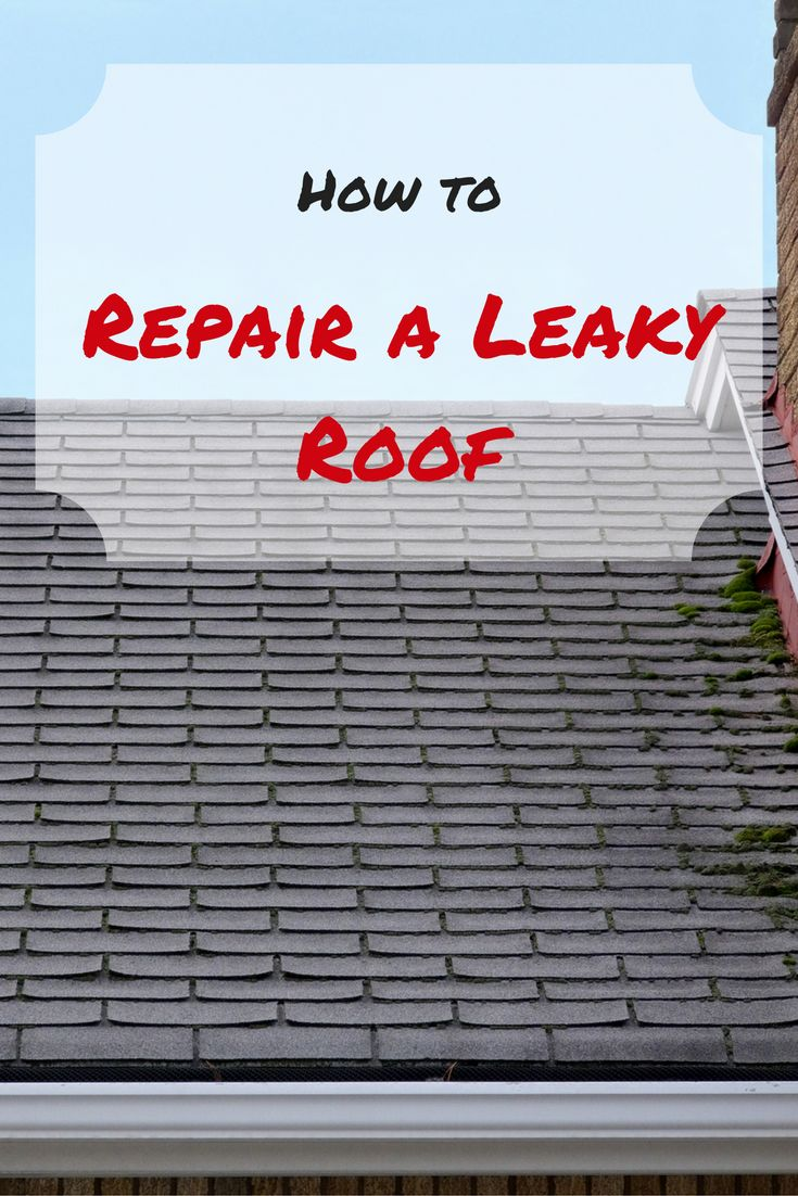 Sure, you may know to grab a bucket, but beyond that, is this the kind of problem you can fix yourself? Yes—provided you take plenty of safety precautions. Here's how to repair a leaky roof.