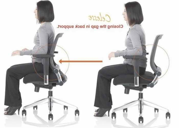 Ergonomic Chair For Lower Back Support