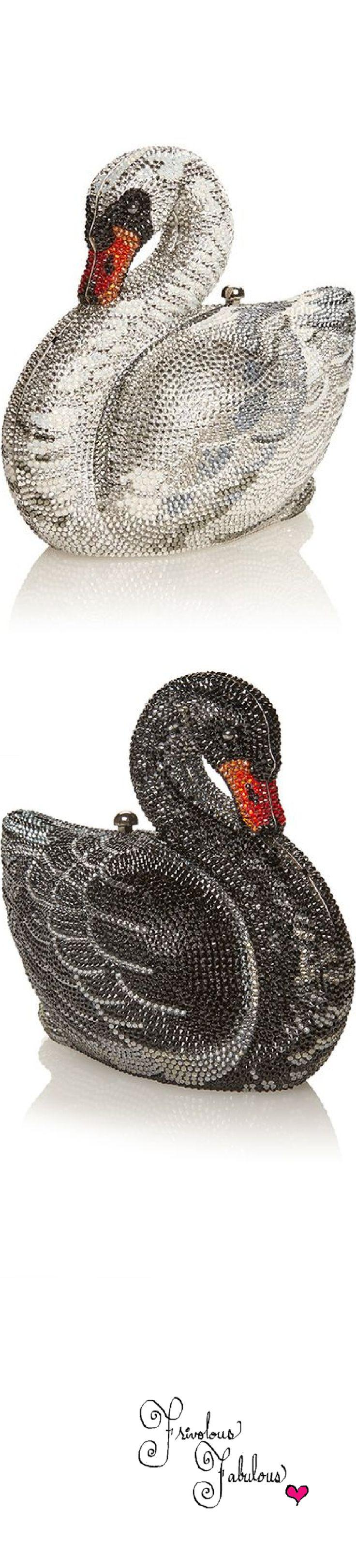Judith Leiber swan handbags