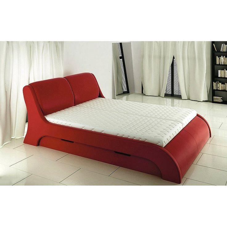 Nowoczesne łoże tapicerowane Swing
