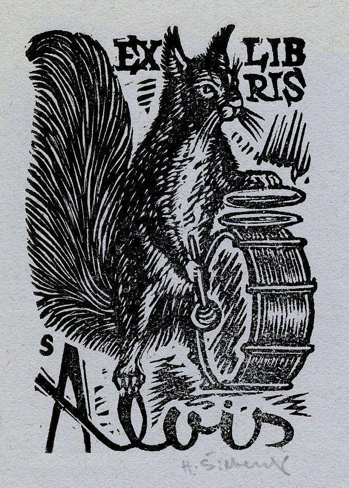 Hugo Silbersky, Ercolini Bookplate Collection