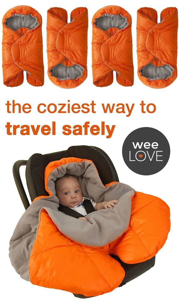 Your little one will be snug as a bug with the new, car seat friendly (aka SAFE) Nido. The oval cut-out in the back means there is no bulky material between baby, the car seat, and the buckles!