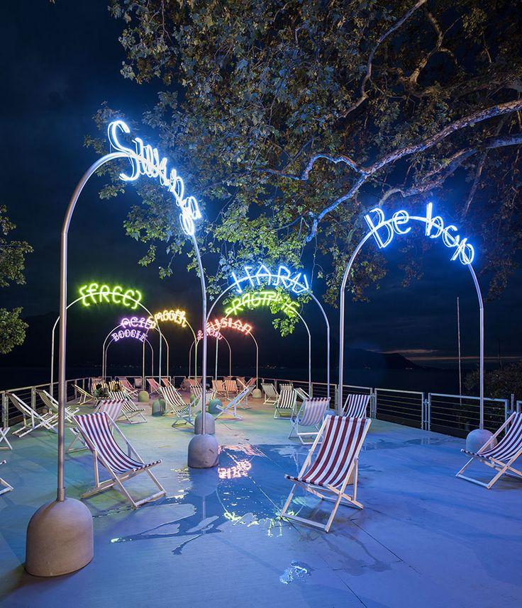 Neon by Bureau A for the Montreux Jazz Fest