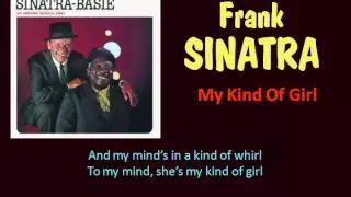 My Kind Of Girl (Frank Sinatra - with Lyrics) - YouTube