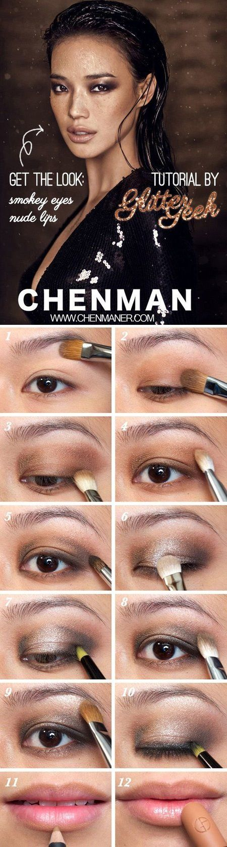 Smoked Out Eye Makeup Tutorial - #smokedout #eyemakeup #eyetutorial