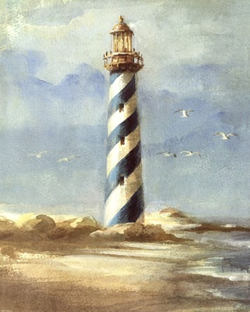 Lighthouse I Fine-Art Print by Danhui Nai at FulcrumGallery.com