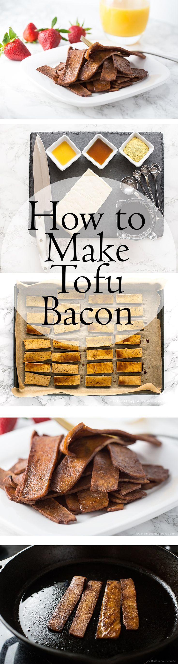 How to Make Tofu Bacon