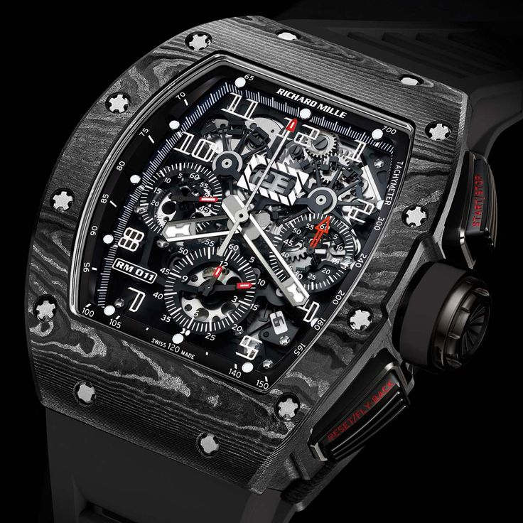 Richard Mille montre automatique RM 011 Carbone @DestinationMars