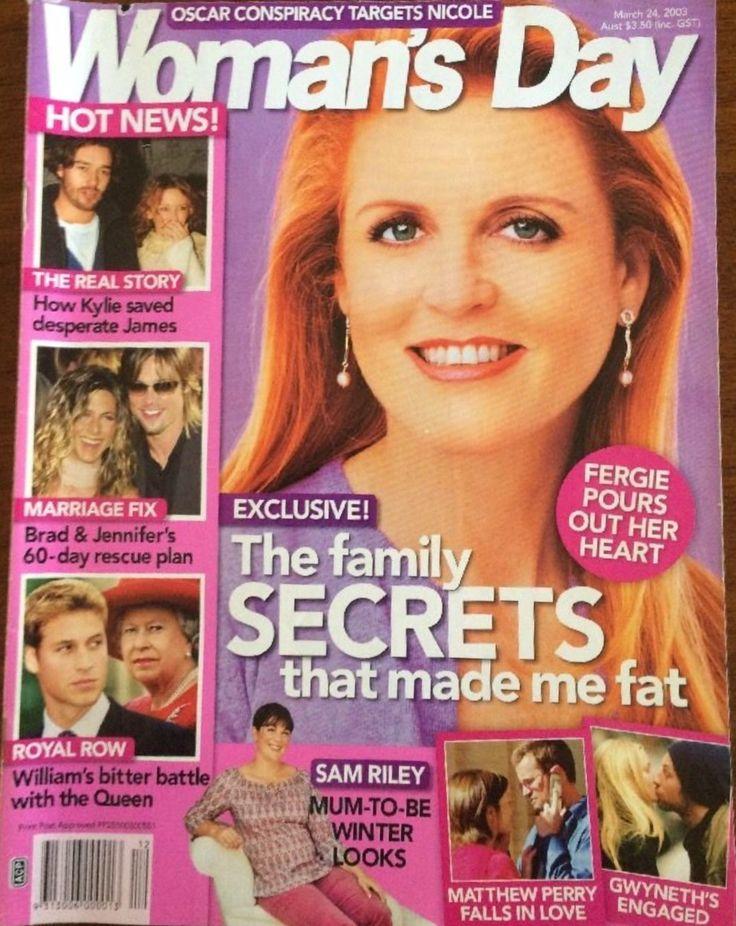 Woman's Day Magazine March 24, 2003 /Fergie