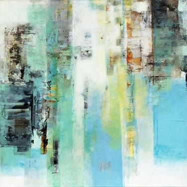 """""""#22,"""" original abstract painting by artist Ines Benedicto available at Saatchi Art #SaatchiArt"""