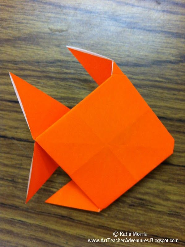 Simple Origami Koi Fish Instructions