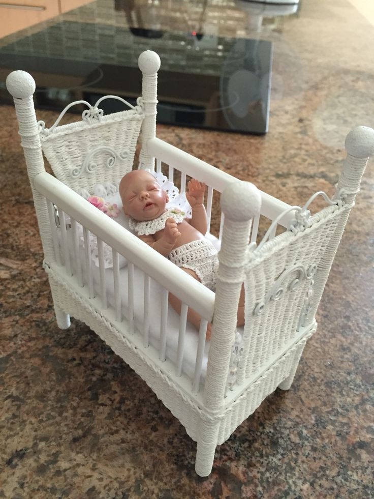 Cot I made for a doll I had
