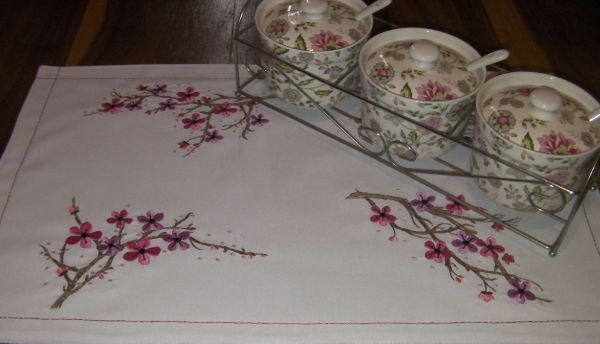 Cherry Blossoms - Created by JHB Creations - 10 beautiful embroidery designs to embroider . Find the designs for purchase here http://www.oregonpatchworks.com/items.php?did=113482&pid=1599345