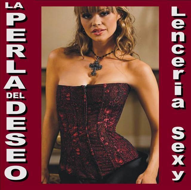 ★ SEXY CORSÉ ROJO+TANGA -talla M- (SC6114) - LENCERIA SEXY LA PERLA DEL DESEO