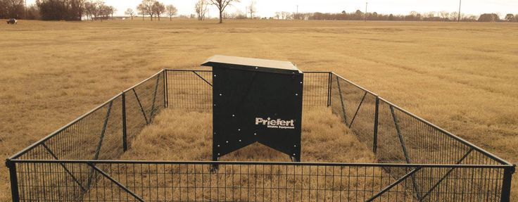 Priefert's Wildlife Creep Feeder is a great way to provide a continuous free flow of feed to a variety of animal species, from exotics to native deer.