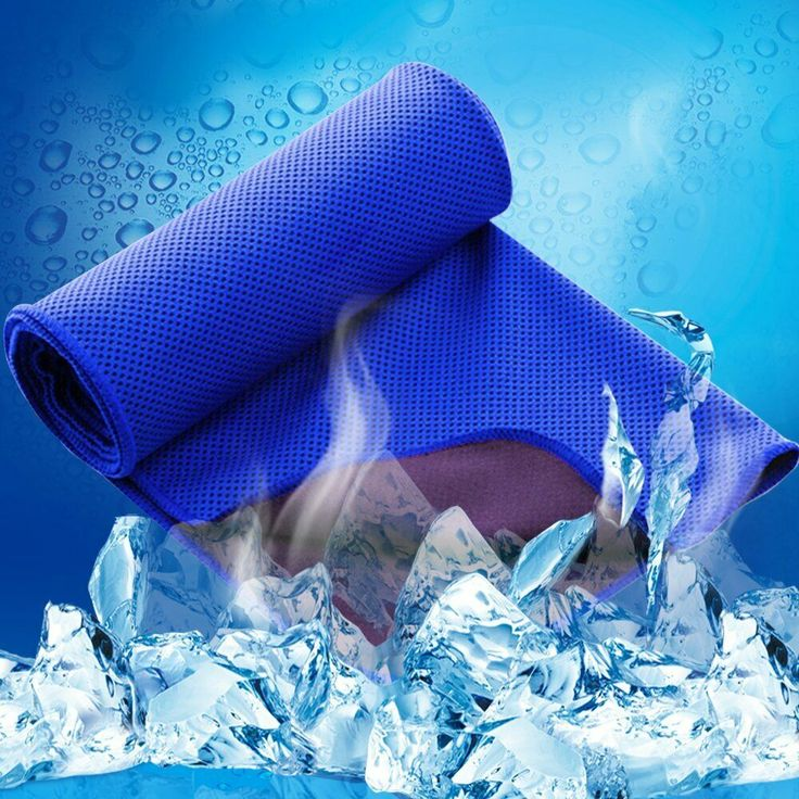 Sweat Towel On Neck: Details About Ice Cooling Towel Chilly Pad Sweat Neck Wrap