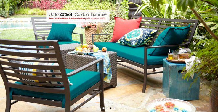 1406 best outdoor living images on pinterest outdoor for Home design e decor shopping