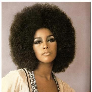 Marsha Hunt ( mother of Mick Jaggers oldest child Karis - 70'S Hairstyles
