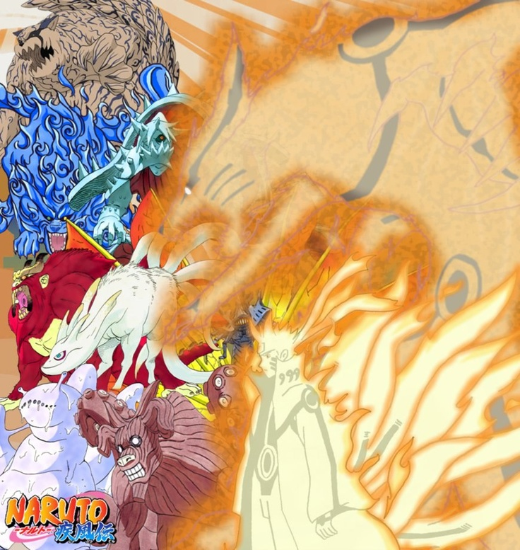 Tailed Beasts Wallpapers: 49 Best Tailed Beasts Images On Pinterest