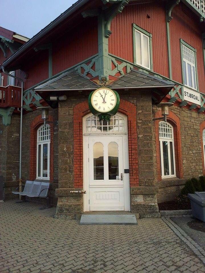 Stjørdal train station, built in 1902