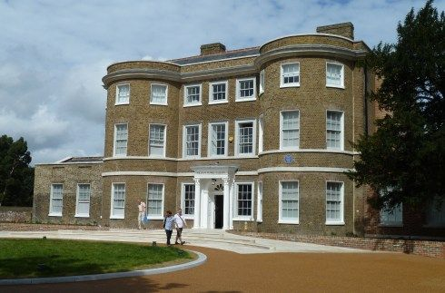 The William Morris Gallery at Lloyd Park in Walthamstow
