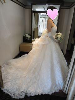 【ウェディングドレス】TAKAMI BRIDAL5回目: For my HAPPY life