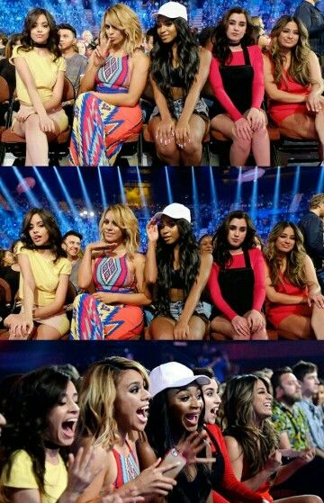 L to R: camila, dinah, normani, lauren, ally