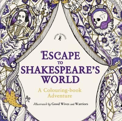 Esacpe To Shakespeares World A Colouring Book Adventure See My Review Here