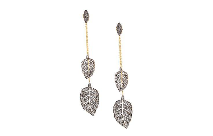 Leaf - earrings