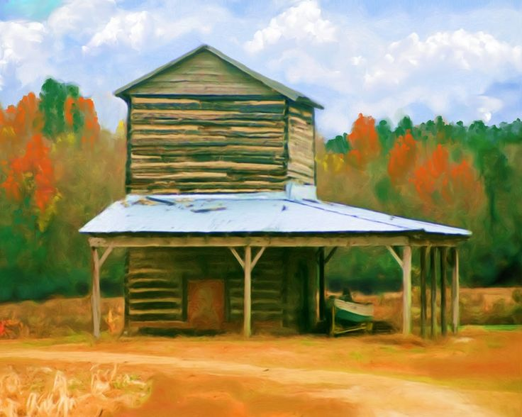 Jody houston north carolina tobacco barn tobacco story for Tobacco barn house plans