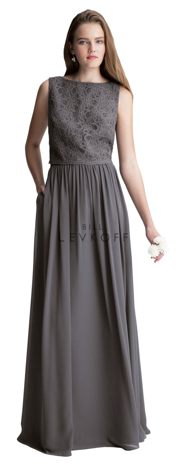 207 best bill levkoff bridesmaids images on pinterest bill levkoff 1428 is a two piece bridesmaid gown corded lace sleeveless top with a slight scalloped bottom available in solid or in any combination of ombrellifo Gallery