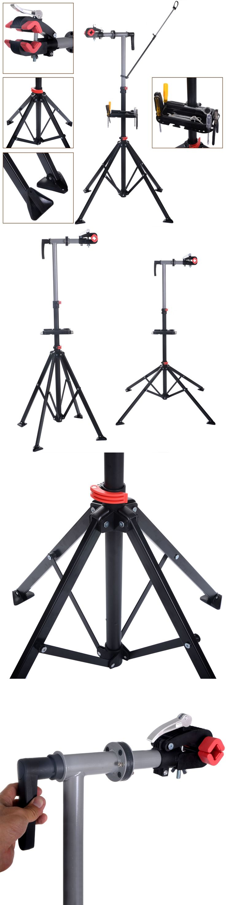 Other Bike Maintenance and Tools 177848: Pro Bike 41To 75Repair Stand Adjustable W/Telescopic Arm Bicycle Cycle Rack BUY IT NOW ONLY: $45.99