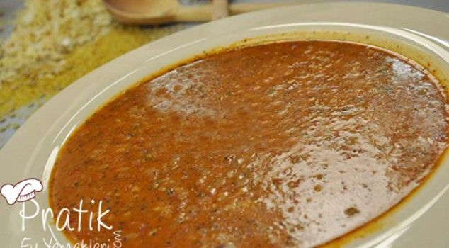Bulgurlu Yeşil Mercimek Çorbası
