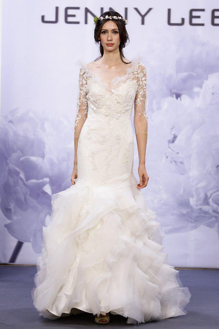 Pin for Later: Les Plus Belles Robes de Mariée de la Bridal Fashion Week Automne 2014  Jenny Lee Bridal Autumn 2014