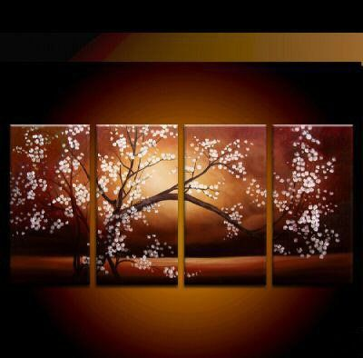 lighted canvas art..