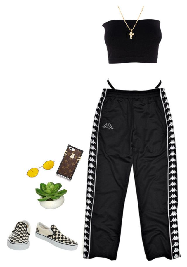 Im so into yoou by puno266 on Polyvore featuring polyvore, fashion, style, Vans, Louis Vuitton and clothing
